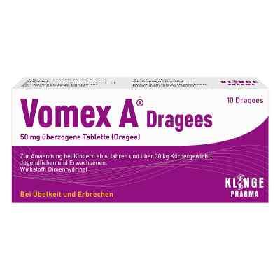 Vomex A Dragees  bei deutscheinternetapotheke.de bestellen