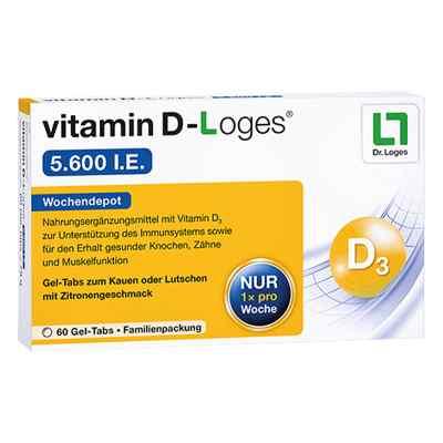 Vitamin D-loges 5.600 I.e. Kautablette (n) familienpackung  bei deutscheinternetapotheke.de bestellen