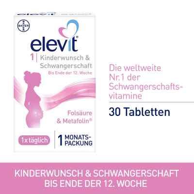 Elevit 1 Kinderwunsch & Schwangerschaft Tabletten  bei deutscheinternetapotheke.de bestellen