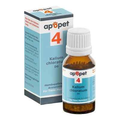 Apopet Schüssler-salz Nummer 4  Kalium chlor.D 6 veterinär   bei deutscheinternetapotheke.de bestellen