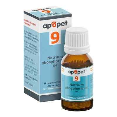 Apopet Schüssler-salz Nummer 9 Natrium phosphoricum D6 veterinär  bei deutscheinternetapotheke.de bestellen