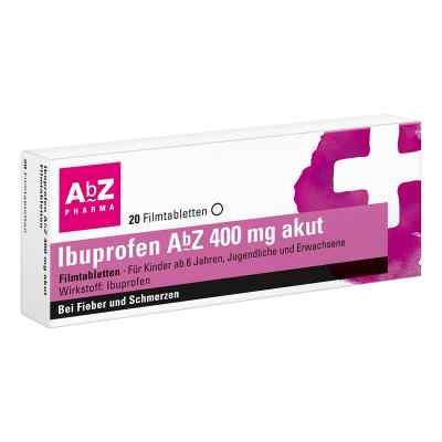 Ibuprofen AbZ 400mg akut  bei deutscheinternetapotheke.de bestellen