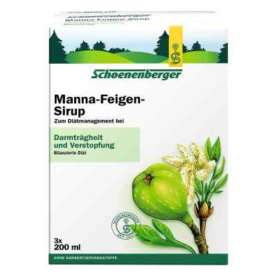 Manna Feigen Sirup Schoenenberger  bei deutscheinternetapotheke.de bestellen