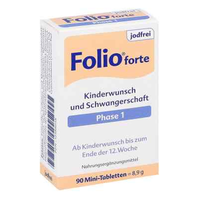 Folio 1 forte jodfrei Filmtabletten  bei deutscheinternetapotheke.de bestellen