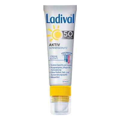 Ladival Aktiv Sonnenschutz für Gesicht und Lipp.LSF 50  bei deutscheinternetapotheke.de bestellen