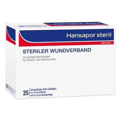 Hansapor steril Wundverband 8x10 cm  bei deutscheinternetapotheke.de bestellen
