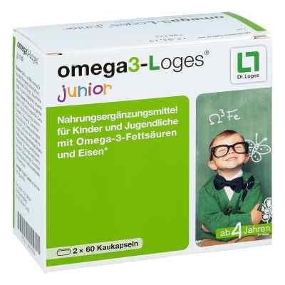 Omega 3-loges junior Kaudragees  bei deutscheinternetapotheke.de bestellen