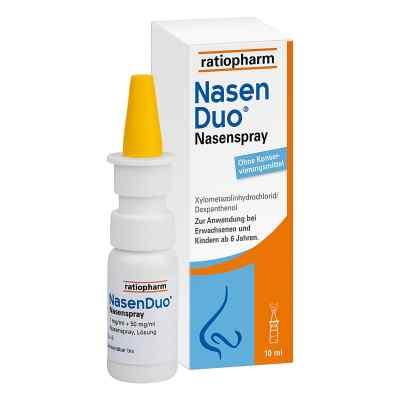 Nasenduo Nasenspray  bei deutscheinternetapotheke.de bestellen