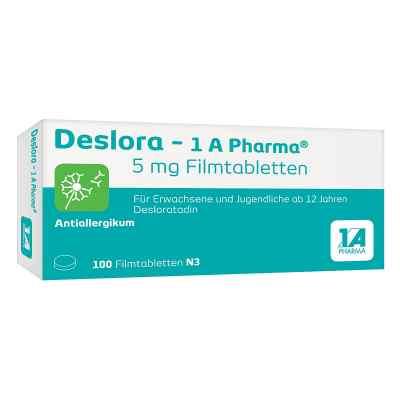 Deslora-1a Pharma 5 mg Filmtabletten  bei deutscheinternetapotheke.de bestellen