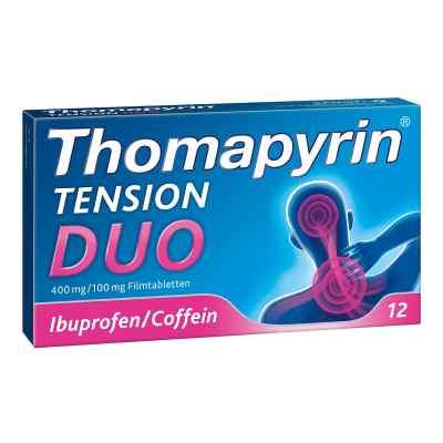 Thomapyrin Tension Duo 400 mg/100 mg Filmtabletten  bei deutscheinternetapotheke.de bestellen