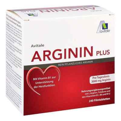 Arginin plus Vitamin B1+b6+b12+folsäure Filmtabletten  bei deutscheinternetapotheke.de bestellen