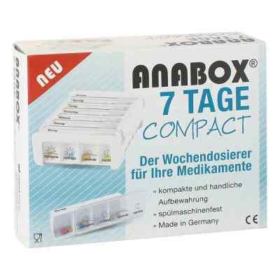 Anabox 7 Tage Compact Wochendosierer weiss  bei deutscheinternetapotheke.de bestellen