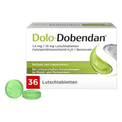 DOLO-DOBENDAN Lutschtabletten bei Halsschmerzen  bei deutscheinternetapotheke.de bestellen