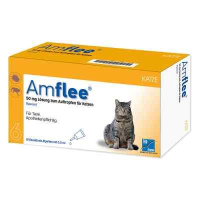 Amflee 50 mg Spot-on Lösung zur, zum Auftropfen für Katzen  bei deutscheinternetapotheke.de bestellen