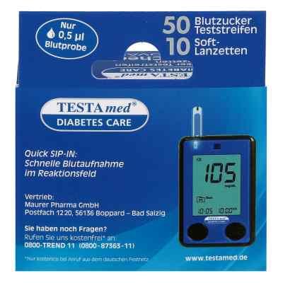 Testamed Glucocheck Advance Teststreif.m.10 Lanz.  bei deutscheinternetapotheke.de bestellen