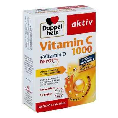 Doppelherz aktiv Vitamin C 1000+vitamin D Depot  bei deutscheinternetapotheke.de bestellen