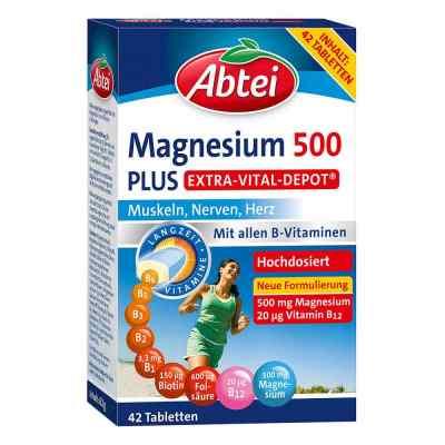 Abtei Magnesium 500 Plus Extra-Vital-Depot Tabletten  bei deutscheinternetapotheke.de bestellen