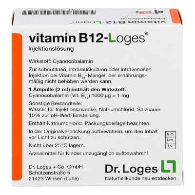 Vitamin B12-loges Injektionslösung Ampullen  bei deutscheinternetapotheke.de bestellen