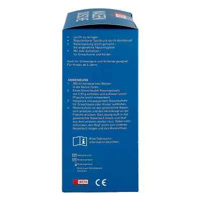 Wepa Nasenspülkanne mit 10x2,95 g Nasenspülsalz  bei deutscheinternetapotheke.de bestellen