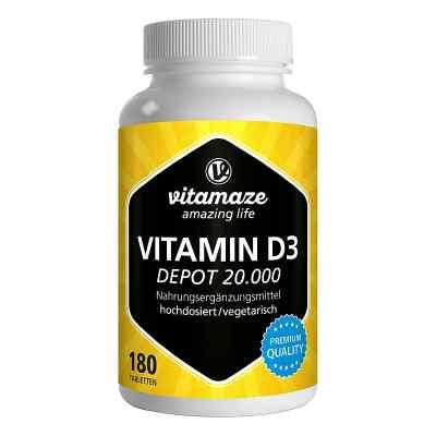 Vitamaze VITAMIN D3 20.000 internationale Einheiten Depot hochdo  bei deutscheinternetapotheke.de bestellen