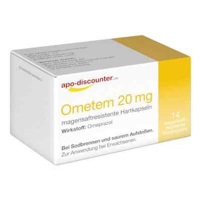 Ometem 20mg gegen Sodbrennen Omeprazol von apo-discounter  bei deutscheinternetapotheke.de bestellen