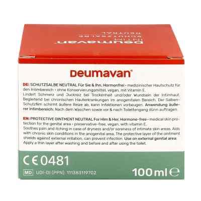 Deumavan Schutzsalbe neutral Dose  bei deutscheinternetapotheke.de bestellen