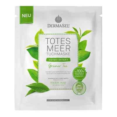 Dermasel Totes Meer Tuchmaske grüner Tee  bei deutscheinternetapotheke.de bestellen