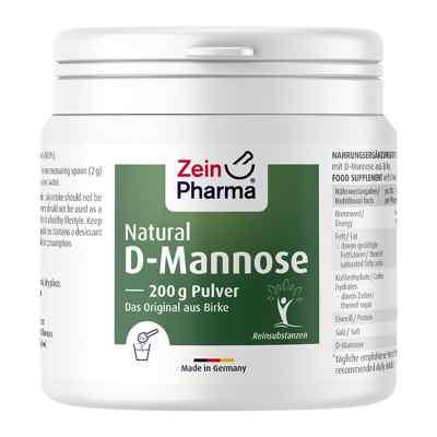 Natural D-mannose aus Birke Zeinpharma Pulver  bei deutscheinternetapotheke.de bestellen