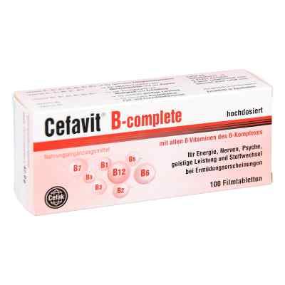 Cefavit B-complete Filmtabletten  bei deutscheinternetapotheke.de bestellen