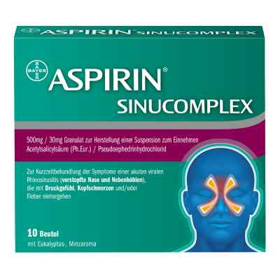 Aspirin Sinucomplex  bei deutscheinternetapotheke.de bestellen
