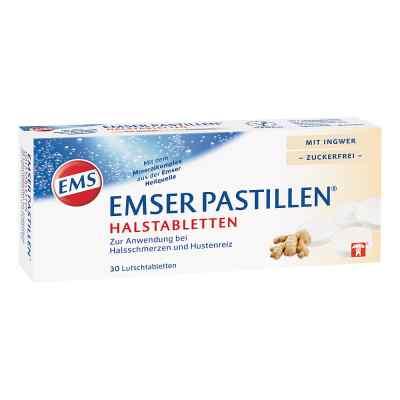 Emser Pastillen Halstabletten mit Ingwer zuckerfrei  bei deutscheinternetapotheke.de bestellen