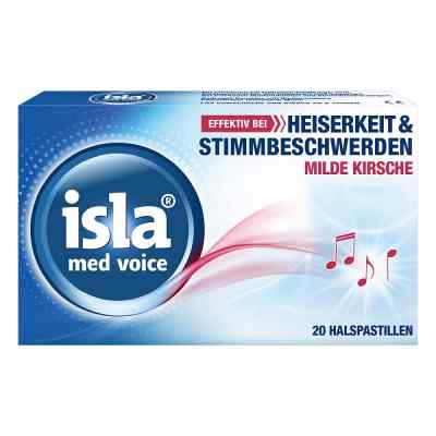 Isla Med voice Pastillen  bei deutscheinternetapotheke.de bestellen