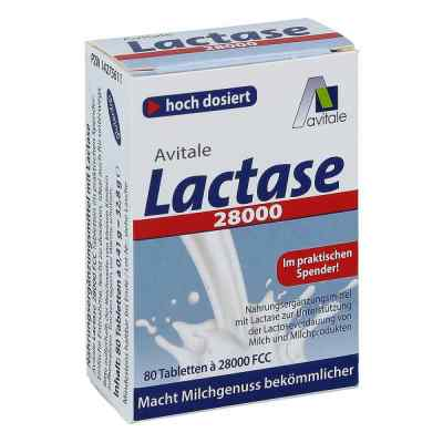 Lactase 28.000 Fcc Tabletten im Spender  bei deutscheinternetapotheke.de bestellen
