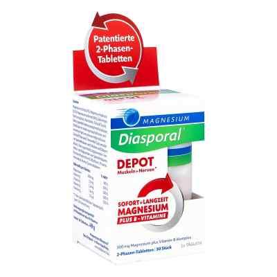 Magnesium Diasporal Depot Muskel und Nerven Tabletten  bei deutscheinternetapotheke.de bestellen