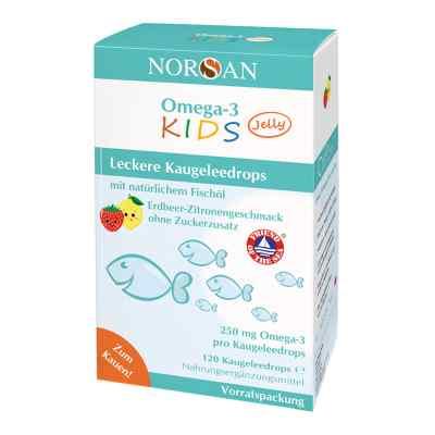 Omega 3 Kids Jelly Fischöl Dragees Vorratspackung Norsan  bei deutscheinternetapotheke.de bestellen
