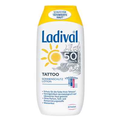 Ladival Tattoo Sonnenschutz Lotion Lsf 50  bei deutscheinternetapotheke.de bestellen
