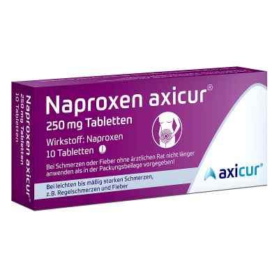 Naproxen axicur 250 mg Tabletten  bei deutscheinternetapotheke.de bestellen