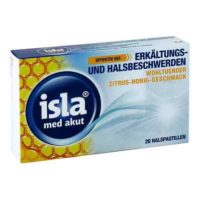 Isla Med akut Zitrus-honig Pastillen  bei deutscheinternetapotheke.de bestellen