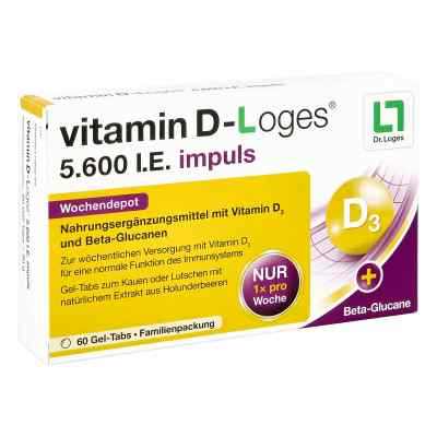 Vitamin D-loges 5.600 I.e. impuls Gel-Tabs  bei deutscheinternetapotheke.de bestellen