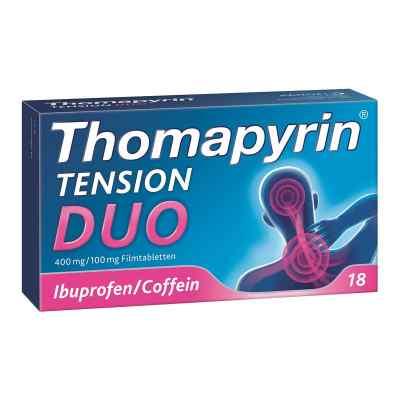 Thomapyrin TENSION DUO 400mg/100mg mit Coffein & Ibuprofen  bei deutscheinternetapotheke.de bestellen