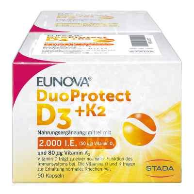 Eunova Duoprotect D3+k2 2.000 I.e./80 [my]g Kapseln ko  bei deutscheinternetapotheke.de bestellen