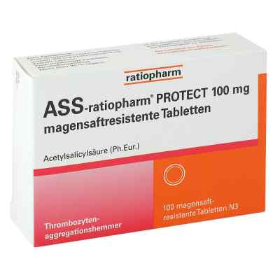 Ass-ratiopharm Protect 100 mg magensaftresistent Tabletten  bei deutscheinternetapotheke.de bestellen