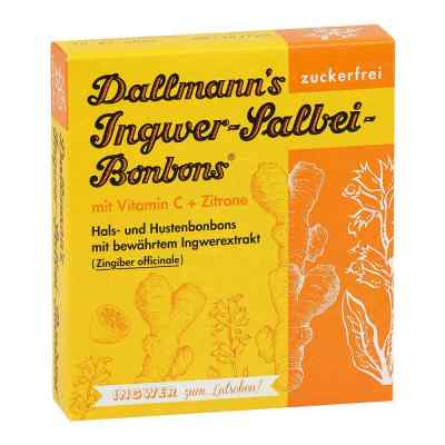 Dallmann's Ingwer-salbei Bonbons  bei deutscheinternetapotheke.de bestellen