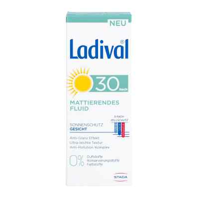 Ladival Sonnenschutz Gesicht Fluid mattierend LSF 30  bei deutscheinternetapotheke.de bestellen