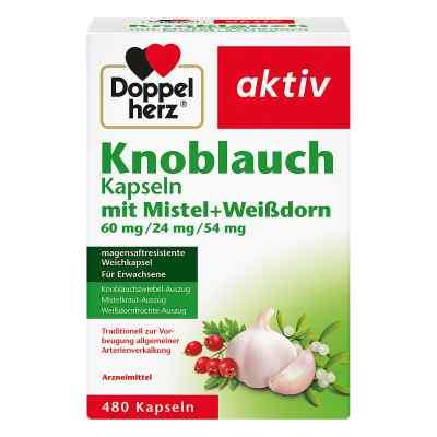 Doppelherz Knobl.kap.m.mistel+weissdorn 60/24/54 m  bei deutscheinternetapotheke.de bestellen