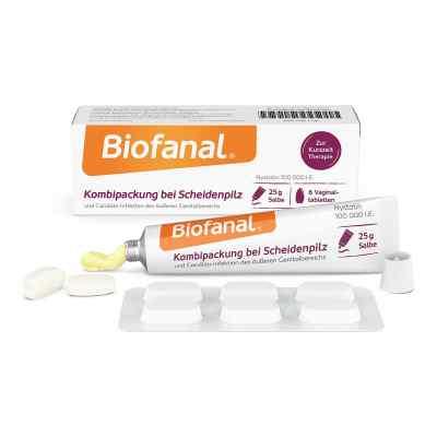 Biofanal Kombipackung bei Scheidenpilz Vaginaltabletten+Salbe  bei deutscheinternetapotheke.de bestellen