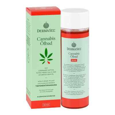 Dermasel Cannabis ölbad Limited Edition Rose  bei deutscheinternetapotheke.de bestellen