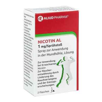 Nicotin Al 1 mg/Sprühstoss Spray zur, zum Anw.i.d.Mundhö.  bei deutscheinternetapotheke.de bestellen