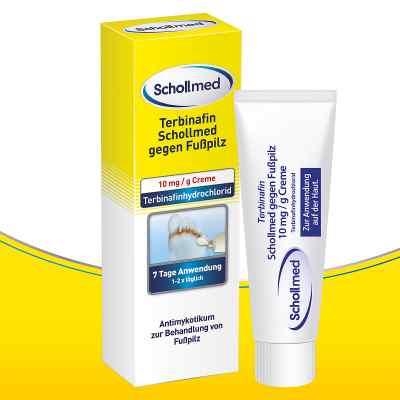 Terbinafin Schollmed gegen Fusspilz 10 mg/g Creme  bei deutscheinternetapotheke.de bestellen
