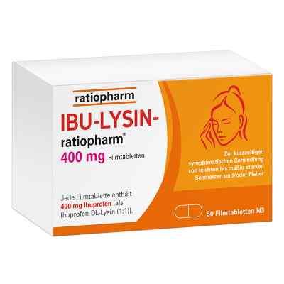 Ibu Lysin-ratiopharm 400 mg Filmtabletten  bei deutscheinternetapotheke.de bestellen
